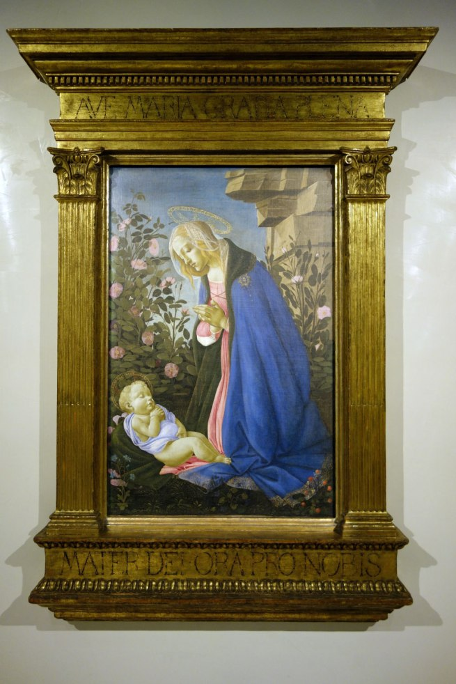 Sandro Botticelli (Italian, 1444/45-1510) 'The Virgin adoring the sleeping Christ child' ('The Wemyss Madonna') c. 1485