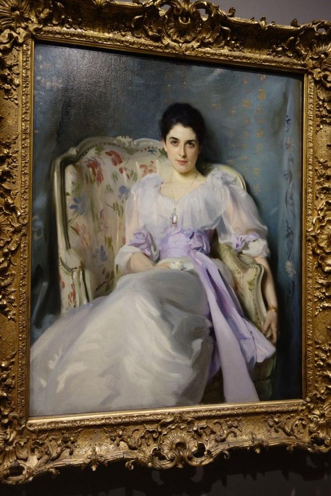 John Singer Sargent (USA, 1856-1925) 'Lady Agnew of Lochnaw' 1892
