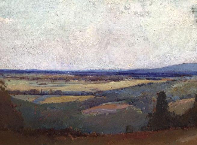 Sydney Long. 'Pastoral scene' 1909 (detail)