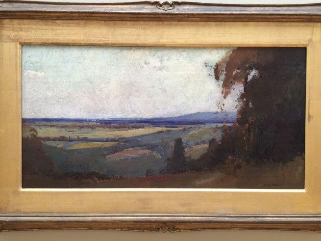 Sydney Long. 'Pastoral scene' 1909