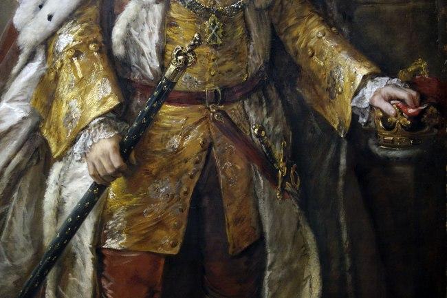 Thomas Gainsborough (England, 1727-88) 'John Campbell, 4th Duke of Argyll' (detail) 1767