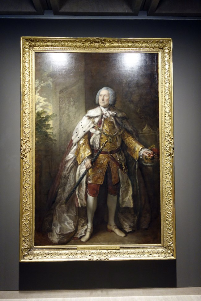 Thomas Gainsborough (England, 1727-88) 'John Campbell, 4th Duke of Argyll' 1767