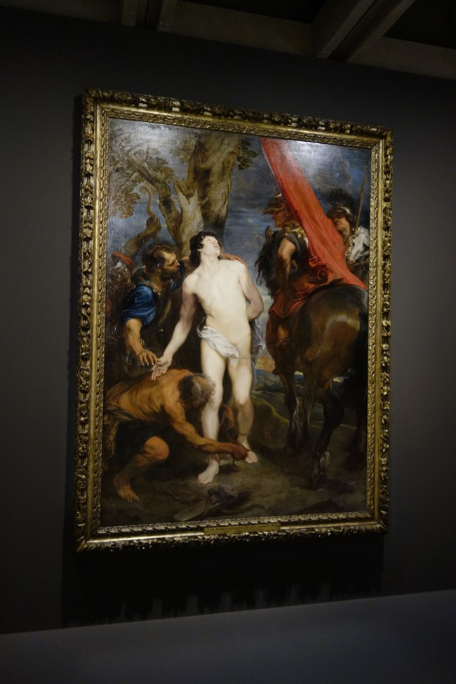 Sir Anthony van Dyck (Southern Netherlands, 1599-1641) 'Saint Sebastian bound for martyrdom' c. 1620-21