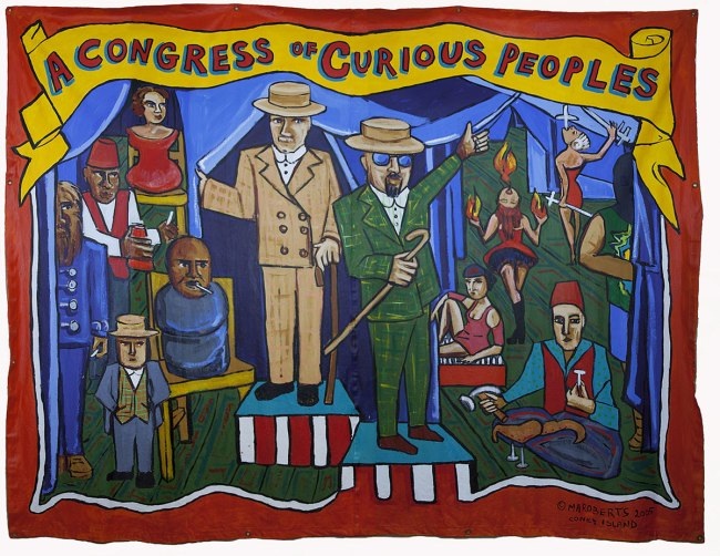 Marie Roberts (American, born 1954). 'A Congress of Curious Peoples' 2005