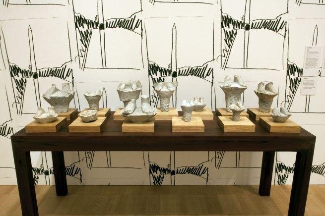 Installation view of Ai Weiwei's 'Feet' (2005)