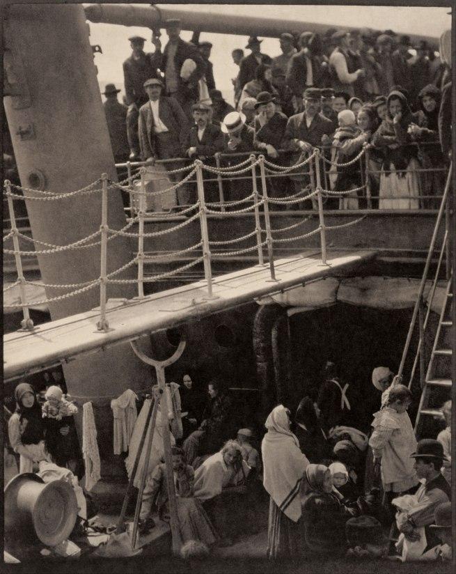 Alfred Stiegitz (American, 1864-1946) 'The Steerage' 1907