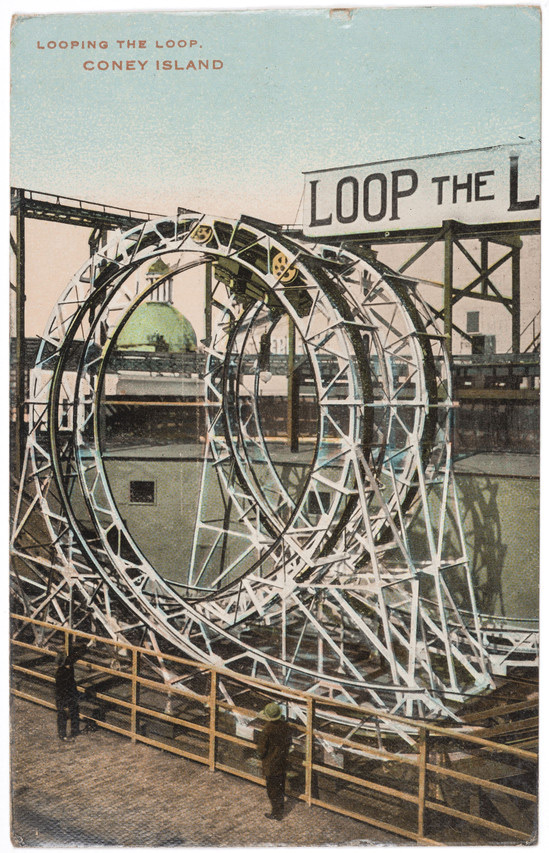 Anonymous artist. 'Looping the Loop, Coney Island' 1901-10