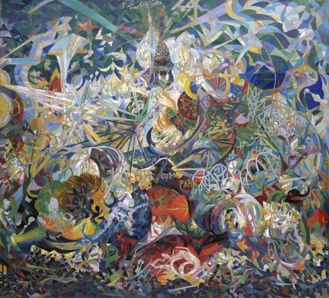 Joseph Stella. 'Battle of Lights, Coney Island, Mardi Gras' 1913-14