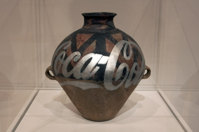 Ai Weiwei (Chinese, 1957- ) 'Neolithic Pottery with Coca-Cola Logo' 2007