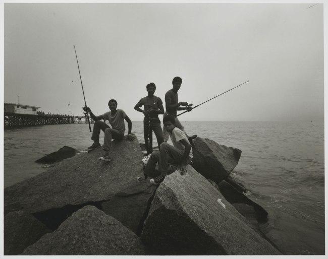 Stephen Salmieri (American, born 1945). 'Coney Island' 1971