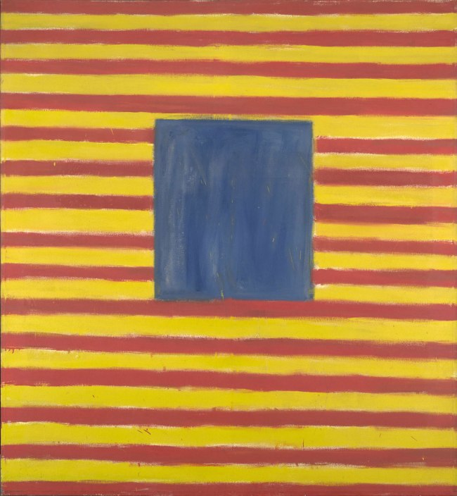 Frank Stella (American, born 1936). 'Coney Island' 1958