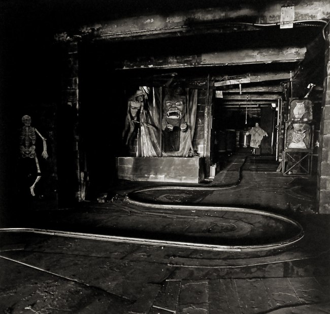 Diane Arbus. 'The House of Horrors' 1961