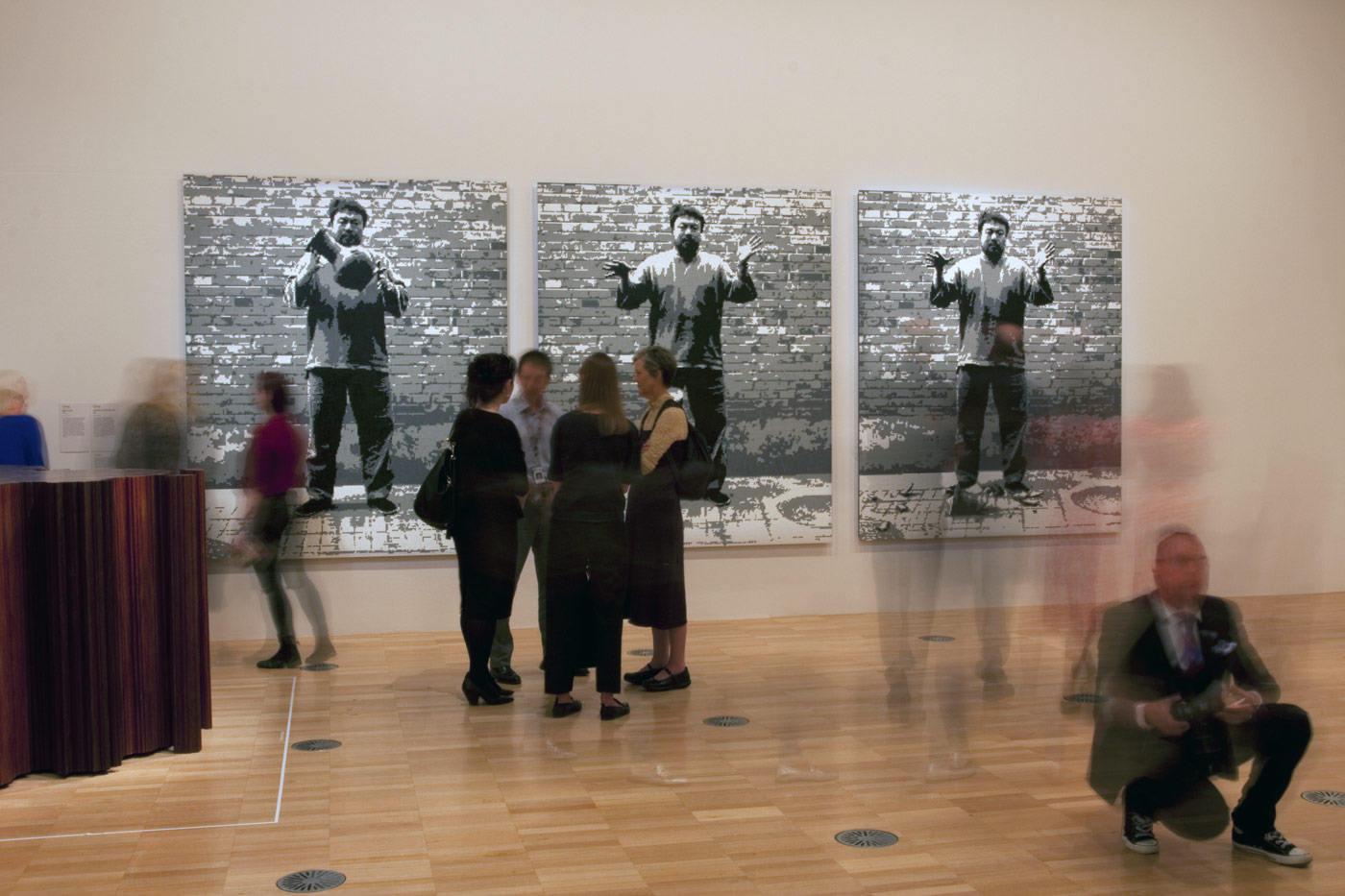 Ai weiwei mao art blart installation view of the exhibition andy warhol ai weiwei at the national gallery floridaeventfo Image collections