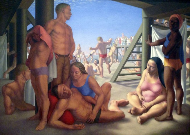 George Tooker. 'Coney Island' 1948