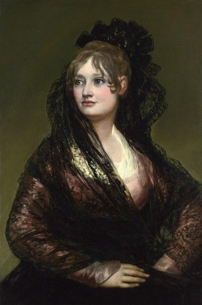 Francisco de Goya. 'Doña Isabel de Porcel' before 1805