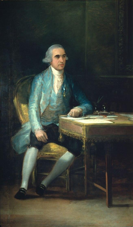 Francisco de Goya. 'Portrait of Don Francisco de Saavedra' 1798