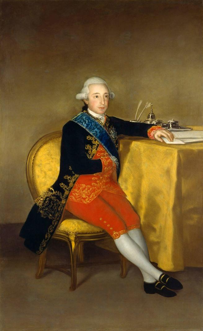 Francisco de Goya. 'The Count of Altamira' 1787