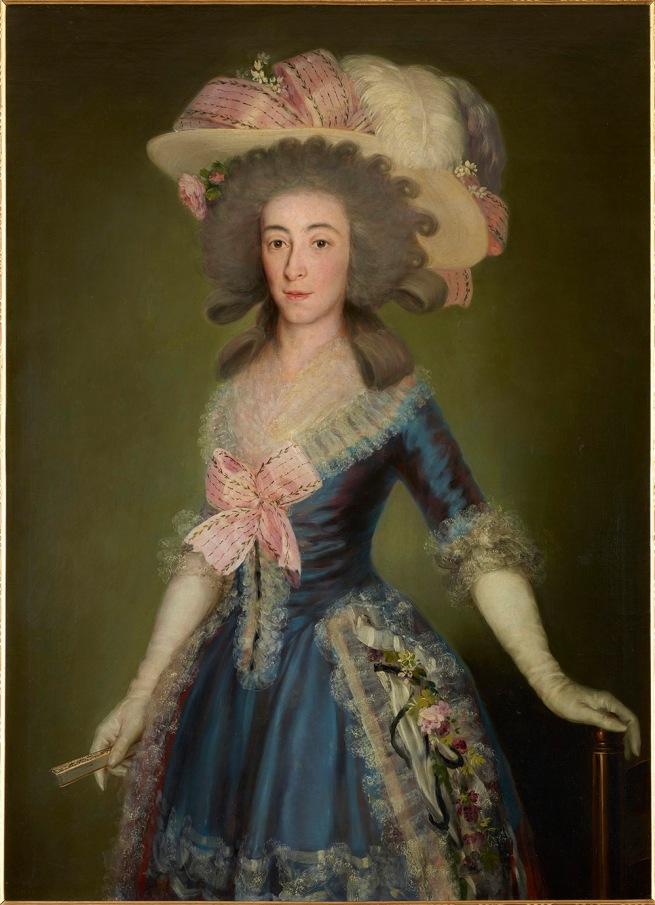 Francisco de Goya. 'Countess-Duchess of Benavente' 1785