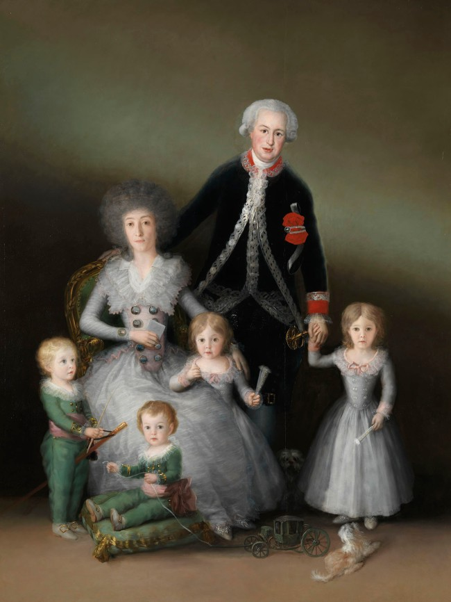 Francisco de Goya. 'The Osuna Family' 1788