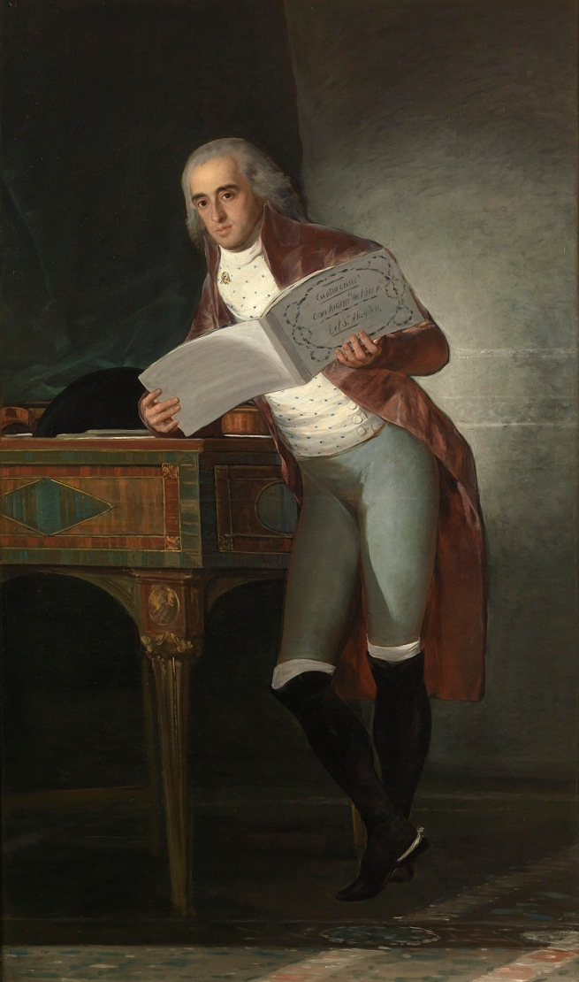 Francisco de Goya. 'The Marquis of Villafranca and Duke of Alba' 1795