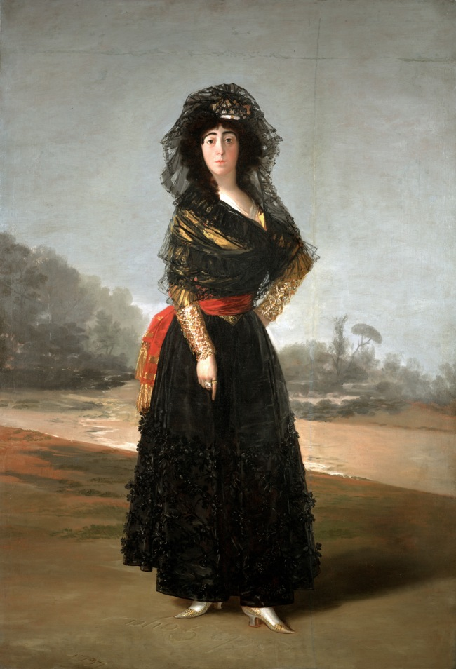 Francisco de Goya. 'The Duchess of Alba' 1797