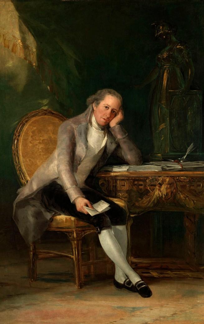 Francisco de Goya. 'Gaspar Melchor de Jovellanos' 1798