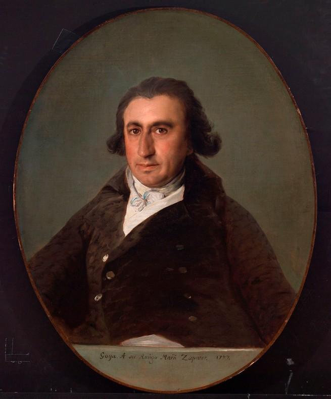 Francisco de Goya. 'Martín Zapater' 1797