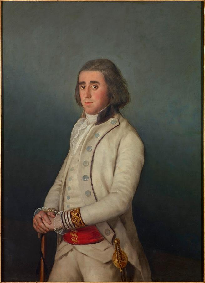 Francisco de Goya. 'Don Valentín Bellvís de Moncada y Pizarro' around 1795