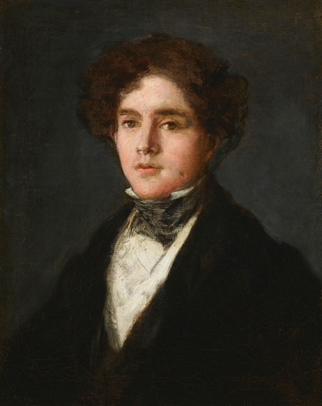 Francisco de Goya. 'Portrait of Mariano Goya, the Artist's Grandson' 1827