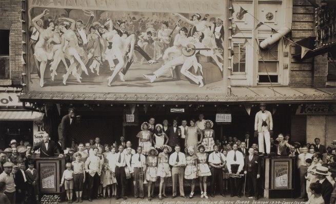 Edward J. Kelty. 'Harlem Black Birds, Coney Island' 1930