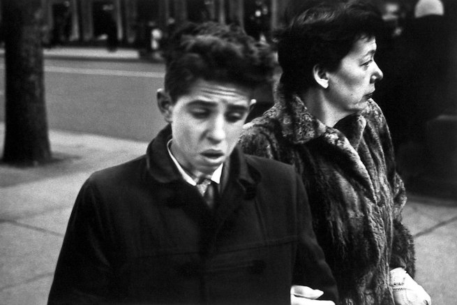 Dave Heath (Canadian, born United States, 1931) '5th Avenue at 43rd Street, New York City, 1958'