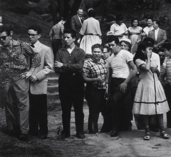 Dave Heath (Canadian, born United States, 1931) 'Drowning Scene, Central Park, New York City, 1957' (detail)