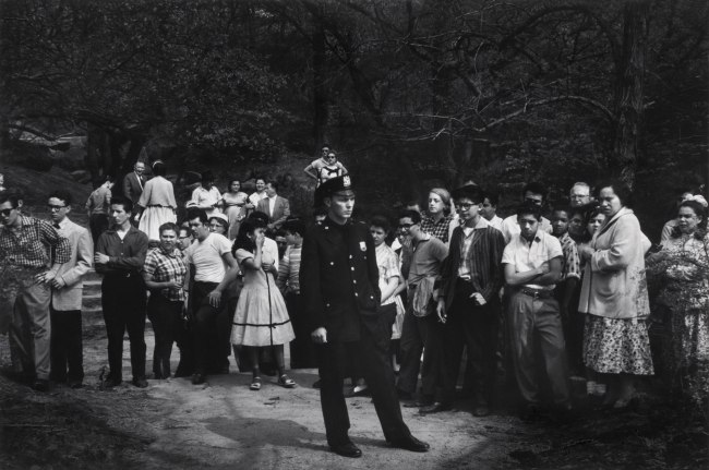 Dave Heath (Canadian, born United States, 1931) 'Drowning Scene, Central Park, New York City, 1957'