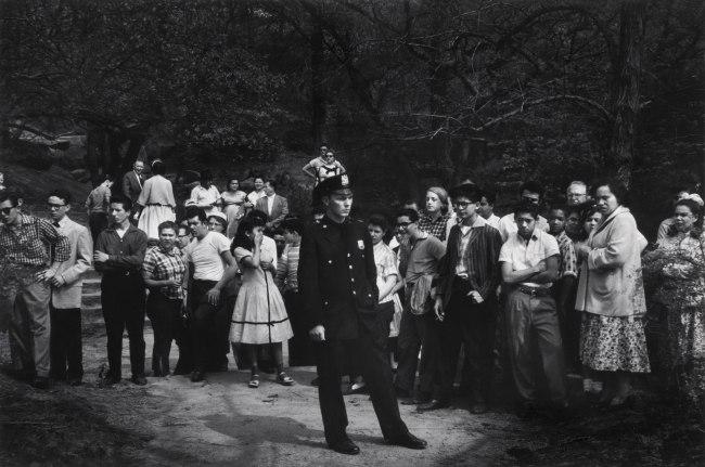 Dave Heath (American, 1931-2016) 'Drowning Scene, Central Park, New York City, 1957'