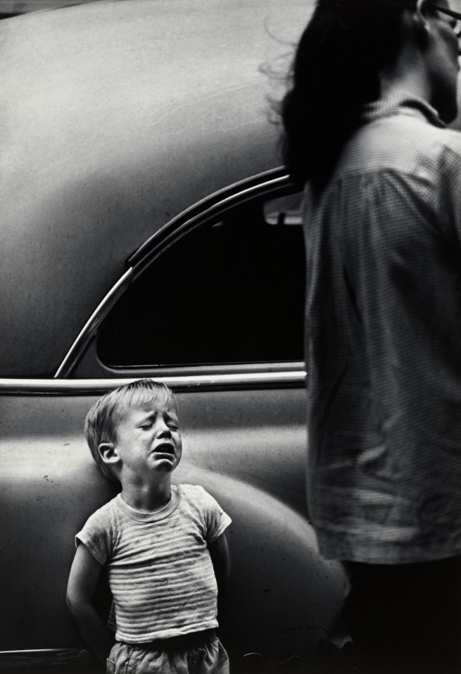 Dave Heath (Canadian, born United States, 1931) 'New York City, 1962'