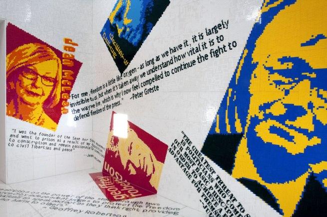 Ai Weiwei (Chinese, 1957- ) 'Letgo room' 2015 (detail)