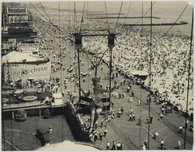 Unknown artist. 'Modern Venus of 1947' Coney Island, 1947