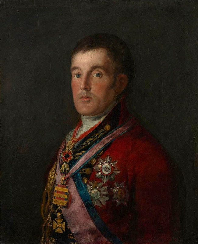 Francisco de Goya. 'The Duke of Wellington' 1812-14