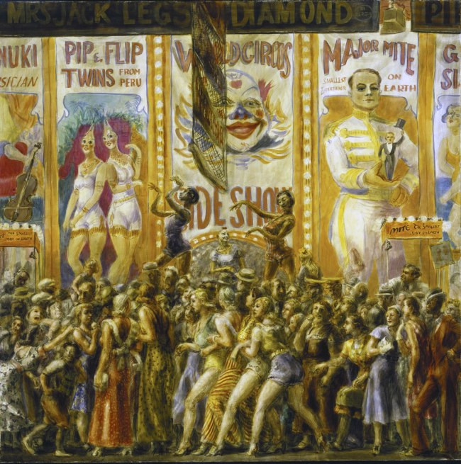 Reginald Marsh. 'Pip and Flip' 1932