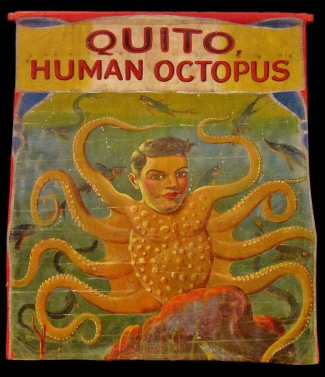 'Quito, Human Octopus' 1940