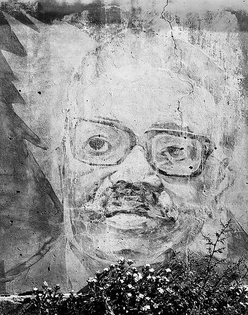 Jo Ractliffe (South African, born 1961) Mural depicting Fidel Castro, Agostinho Neto and Leonid Brezhnev, circa 1975, Viriambundo (detail) 2009