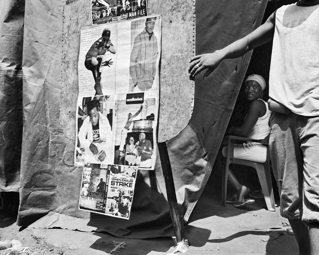 Jo Ractliffe (South African, born 1961) 'Video club, Roque Santeiro market' 2007