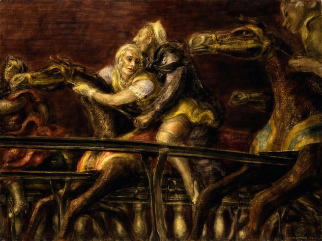 Reginald Marsh. 'George Tilyou's Steeplechase Park' 1936