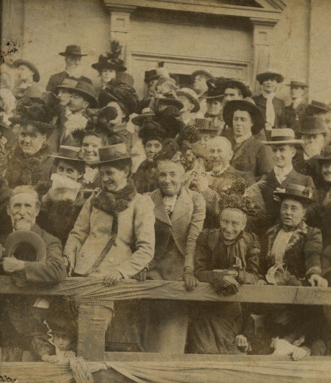 Columbia Stereoscopic Company. 'Royal Visit to Melbourne, May 1901' (detail)