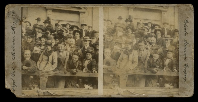 Columbia Stereoscopic Company. 'Royal Visit to Melbourne, May 1901'