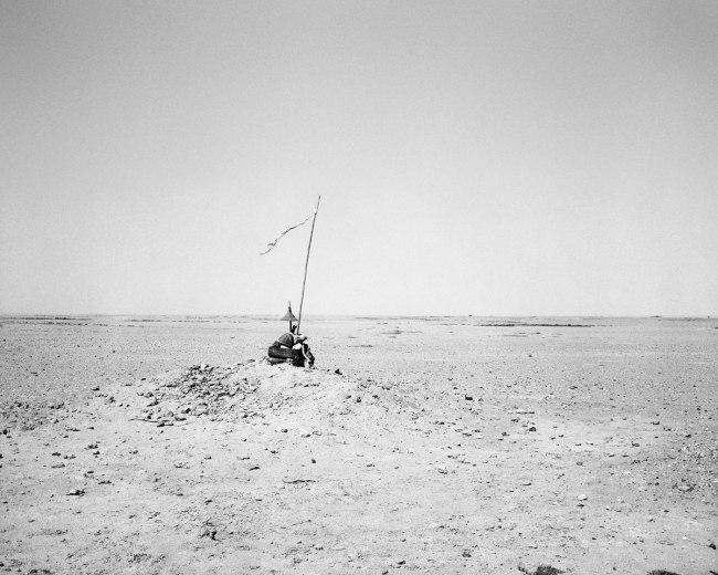 Jo Ractliffe (South African, born 1961) 'Unidentified memorial in the desert, south of Namibe I' 2009