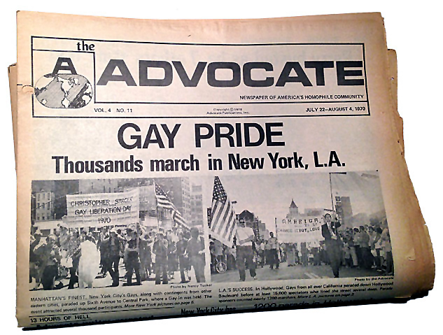 The July 22-August 4, 1970 issue of 'The Advocate'