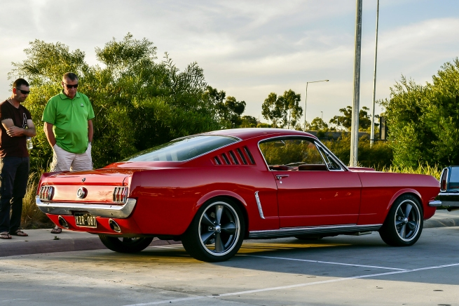 Andrew Follows. 'Ford Mustang Fastback 1966' 2016
