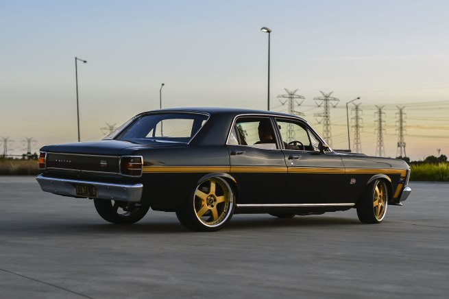 Andrew Follows. 'XW GT Ford Falcon 1968' 2016