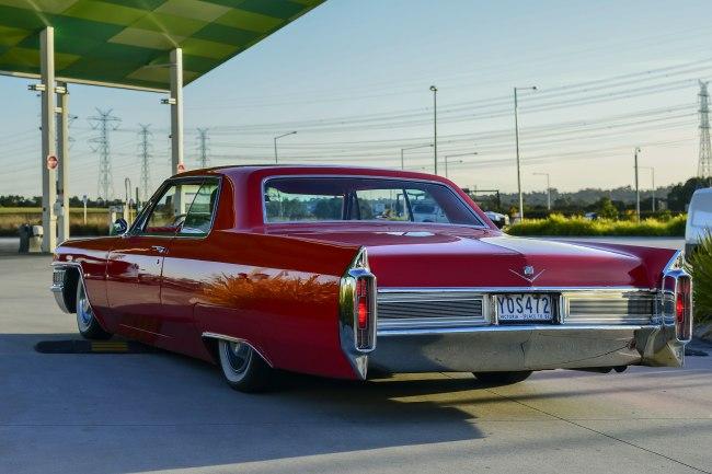 Andrew Follows. 'Cadillac Coupe de Ville 1965' 2016